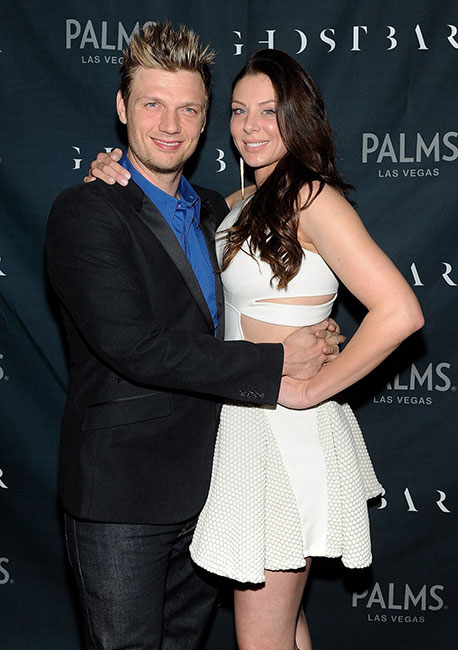 Lauren-Kitt-and-Nick-Carter-on-Ghostbar-red-carpet-(David-Becker)